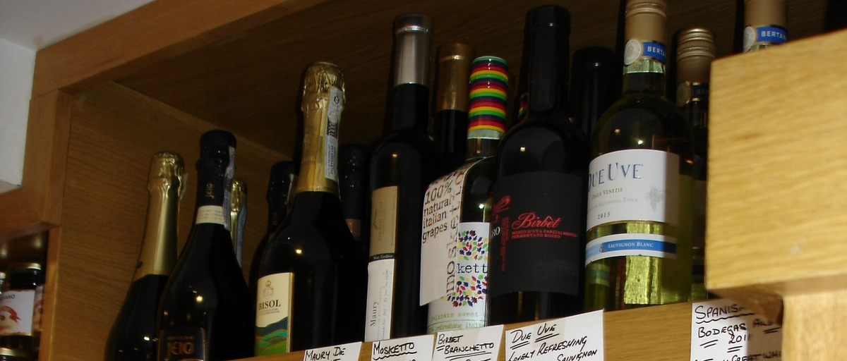 Finest selection of Italian Food and Wine