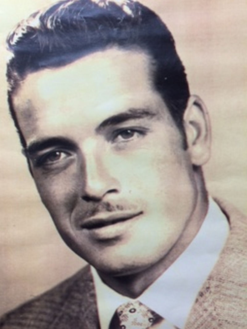 Dad in his Clark Gable years