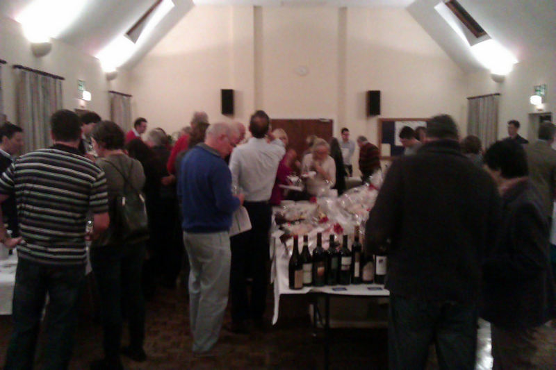 Our wine tasting evening